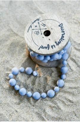 Dekoracja Koraliki Nie/Decoration Beads light blue-558