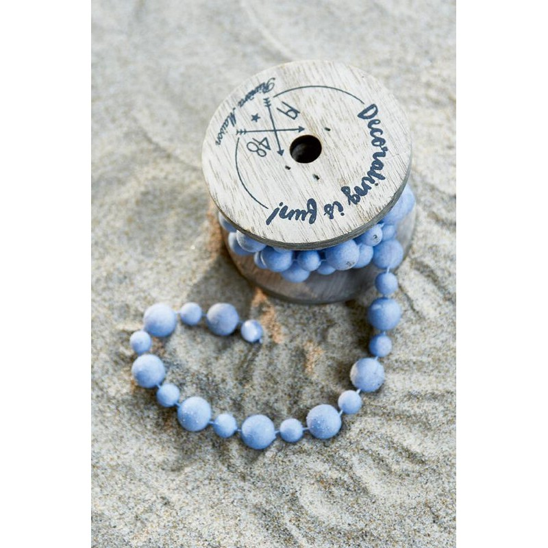Dekoracja Koraliki Nie/Decoration Beads light blue-558