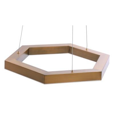 LAMPA WISZĄCA HEX LED M ŚR. 60 CM