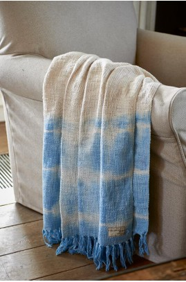 Pled RM / Summer Degradé Throw blue 170x130
