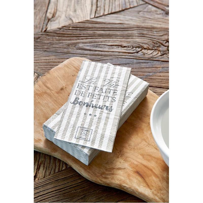 Serwetki Papierowe RM /Paper Napkin La Vie Est....-908
