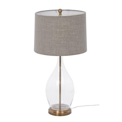 LAMPA STOŁOWA ASTI Z ABAŻUREM 35X35X76 CM
