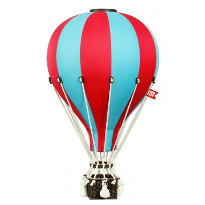 Balon Dekoracyjny L12 Niebiesko-Czerwony DUŻY 50 cm