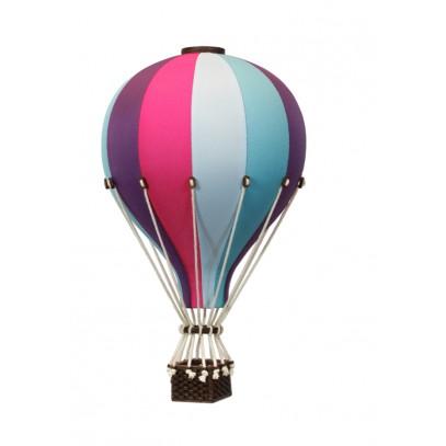 Balon Dekoracyjny L12 Niebiesko-Fioletowy ŚREDNI 33 cm