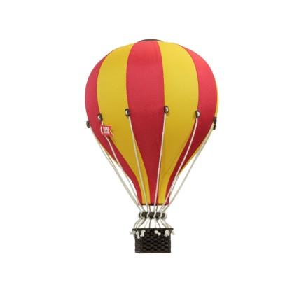 Balon Dekoracyjny L12 Żółto-Czerwony ŚREDNI 33 cm