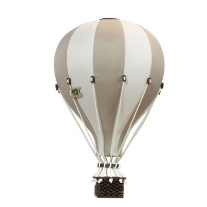 Balon Dekoracyjny L12 Biało-Złoty ŚREDNI 33 cm