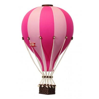 Balon Dekoracyjny L12 Różowo-Różowy ŚREDNI 33 cm