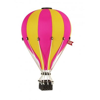 Balon Dekoracyjny L12 Żółto-Różowy ŚREDNI 33 cm