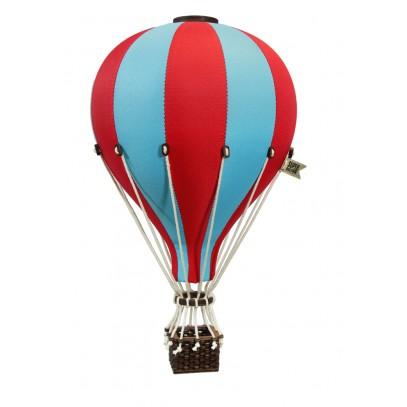Balon Dekoracyjny L12 Błękiwno-Czerwony ŚREDNI 33 cm