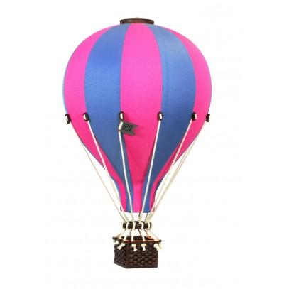 Balon Dekoracyjny L12 Niebiesko-Różowy  ŚREDNI 33 cm