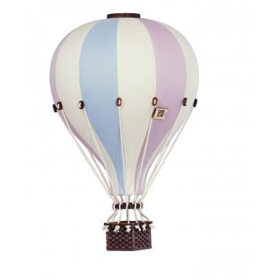 Balon Dekoracyjny L12 Beżowo-Różowo-Błękitny ŚREDNI 33 cm