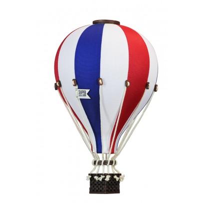 Balon Dekoracyjny L12 Biało-Czerwono-Niebieski ŚREDNI 33 cm