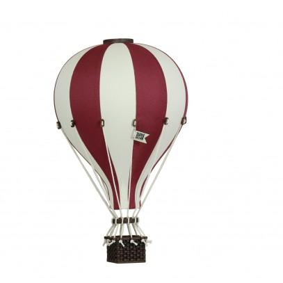 Balon Dekoracyjny L12 Beżowo-Bordowy ŚREDNI 33 cm