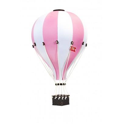 Balon Dekoracyjny L12 Biało-Różowy DUŻY 50 cm