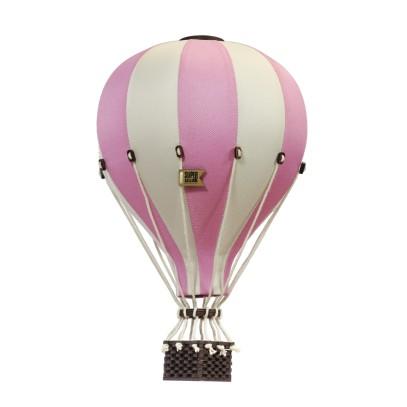 Balon Dekoracyjny L12 Szaro-Różowy ŚREDNI 33 cm
