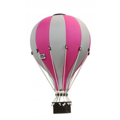 Balon Dekoracyjny L12 Beżowow-Różowy ŚREDNI 33 cm