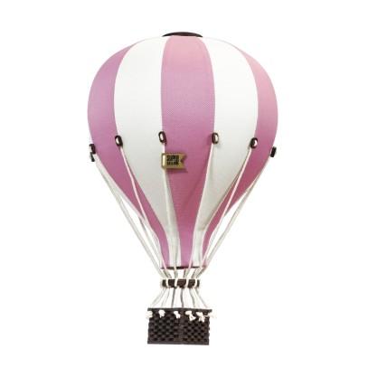 Balon Dekoracyjny L12 Beżowo-Jasnoróżowy ŚREDNI 33 cm
