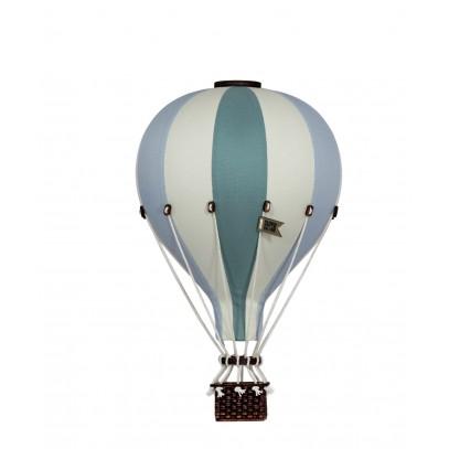 Balon Dekoracyjny L12 Beżowo-Miętowy ŚREDNI 33 cm