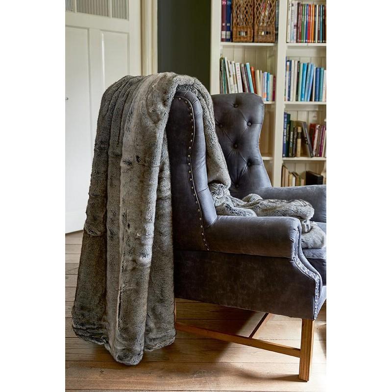 Pled 240x220 / RM Chinchilla Fur Throw 240x220-1521
