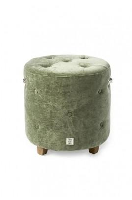 Pufa Bowery / Bowery Footstool Velvet Palm -1551