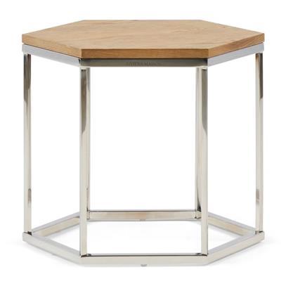 Stolik Hexagon Parc End Table Wood Riviera Maison-3872