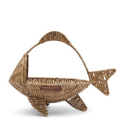 Koszyk Rattanowy Happy Fish Riviera Maison