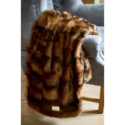 Pled 170x130 / Fabuleux Fur Throw Mink 170x130