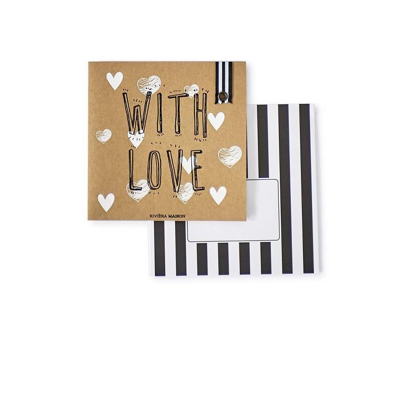 Kartka Pocztowa RM / Postcard With Love  Envelope -1677