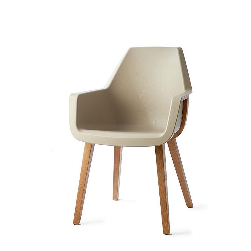Krzesło / Amsterdam City Dining Armchair Taupe