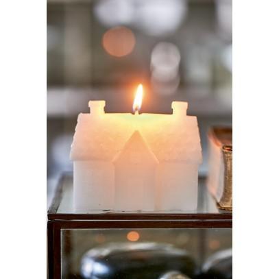 Świeca Domek RM /Riviera Maison House Candle white