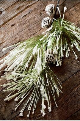 Dekoracja Gałązka Ośnieżone 110cm/ A Frosty Branch