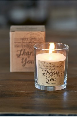 "Świeca ""Thank You"" / Candle In A Box Thank You"