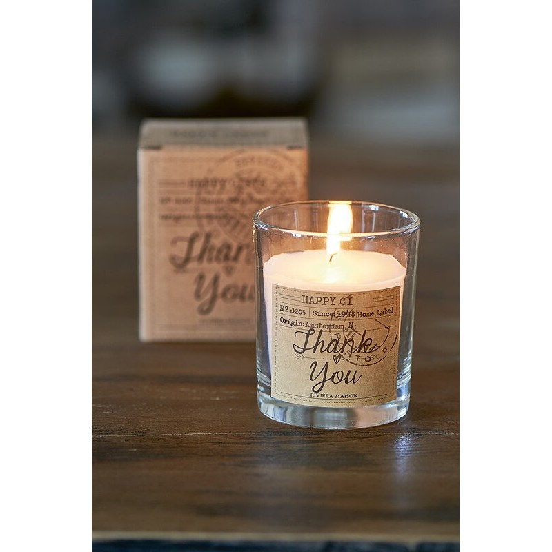 """Świeca """"Thank You"""" / Candle In A Box Thank You"""