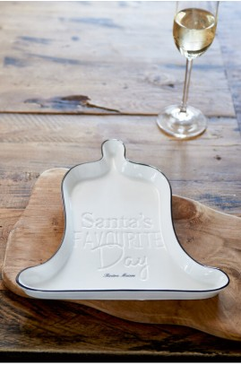 Talerz Dzwonek / Santa's Favourite Day Bell Plate