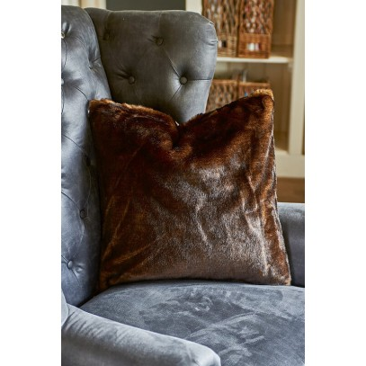 Poszewka RM 50x50 / Canadian Fur P.Cover brown