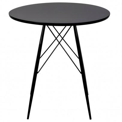 Stół JACK DSW czarny - polipropylen, metal