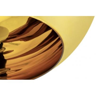 Lampa wisząca BOLLA UP GOLD 20 złota - szkło metalizowane