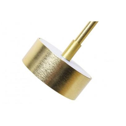 Lampa wisząca CAPRI 6 złota - 60 LED, alumiumium, szkło
