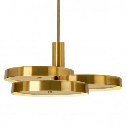 Lampa wisząca BROOKLYN złota - metal