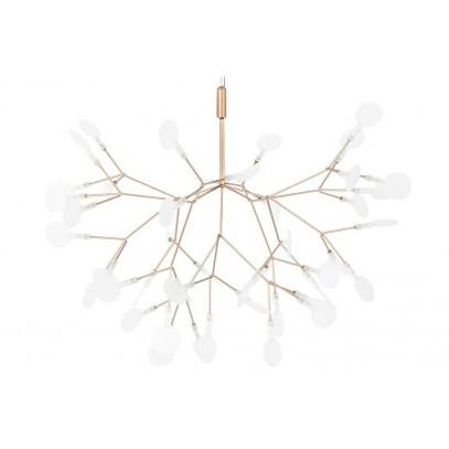 Lampa wisząca FLORA 98 miedziana - LED, metal