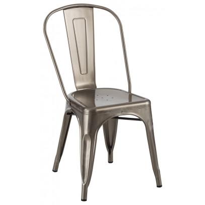 Krzesło TOWER (Paris) metaliczne - metal