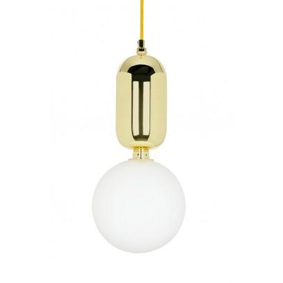 Lampa wisząca BOY S Fi 18 złota - LED, szkło, metal