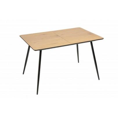 INVICTA stół APARTMENT 120-160 cm dębowy - płyta MDF, metal