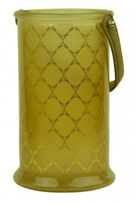 LAMPION SZKLANY VAIOLET 15X22 POMARAŃCZOWY