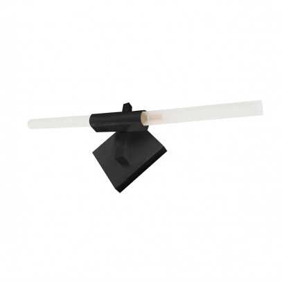 Kinkiet CANDELABR WALL czarny - aluminium, szkło
