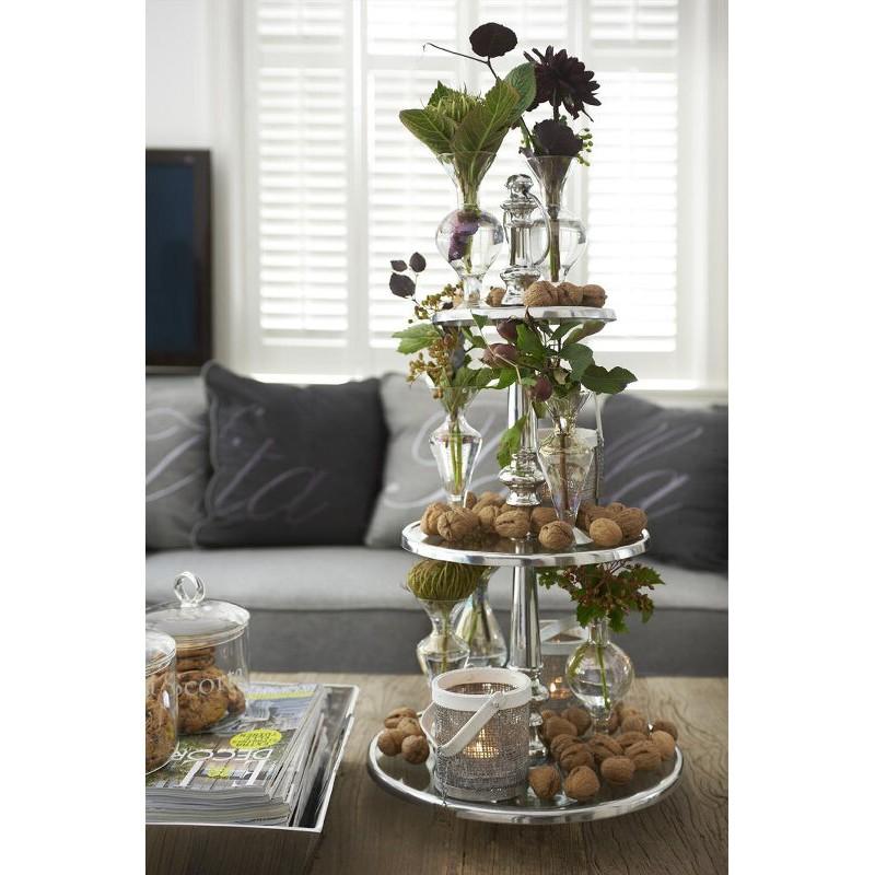 Patera szklana/ Berkeley Glass Cake Stand 3 Levels-1118