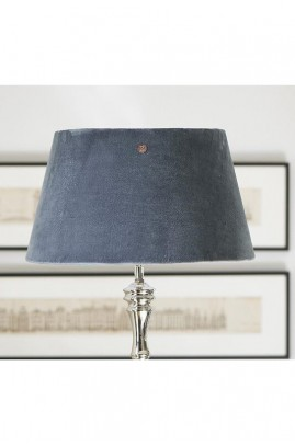Abażur RM / Vlevet Clams Grey Lampshade 28x38 cm