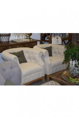 Fotel RM / Medford Armchair Cotton Sand