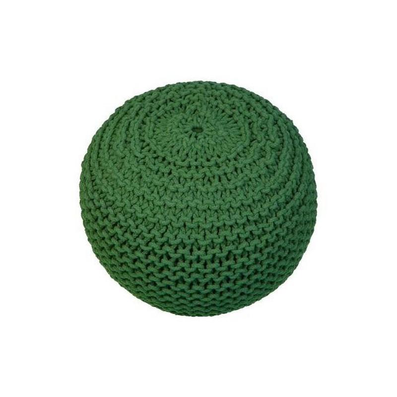 PUFA PLECIONA BALL OKRĄGŁA 50X35 COL. GREEN-2446