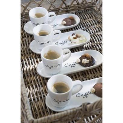 Caffe Solo - Filiżanka z Podstawką-1111